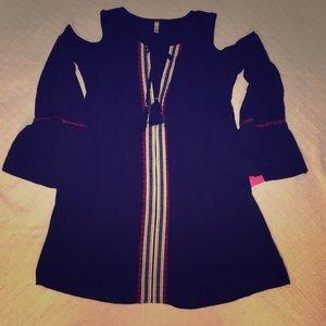 Xhilaration cold shoulder dress